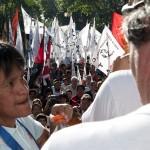 marcha contra mauricio macri en aniversario 2 años de gobierno 9.12.2009